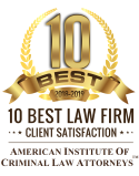 10 Best Law Firm - American Institute of Criminal Law Attorneys